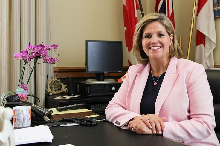 Leader Andrea Horwath was proud to join with everyone wearing pink on April 10 to stop bullying in our schools. It is vital that all students have a safe place to learn in Ontario.