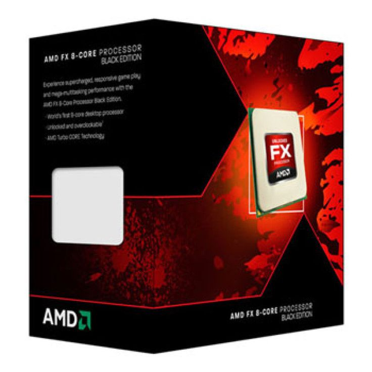 AMD FX-8350 4GHz Socket AM3+ 8MB Cache Retail Boxed Processor - Ebuyer
