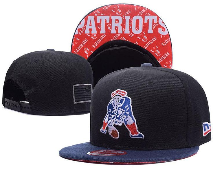 Men's New England Patriots New Era 9Fifty NFL Crafted in America Throwback Snapback Hat - Black / Navy