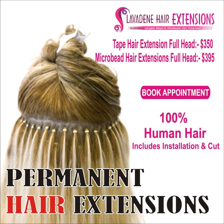 Go stylish, go colourful with the variety of permanent hair extensions available at Lavadene. Their price range will never exceed your budget for self-grooming! #HairExtensions #PermanentHairExtension