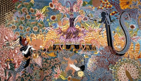 The Garden of Earthly Delights I - Raqib Shaw - 2002 - 23481