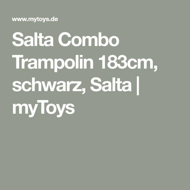 Salta Combo Trampolin 183cm, schwarz, Salta | myToys