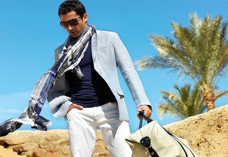 Yazlık mavi ceket. KİP