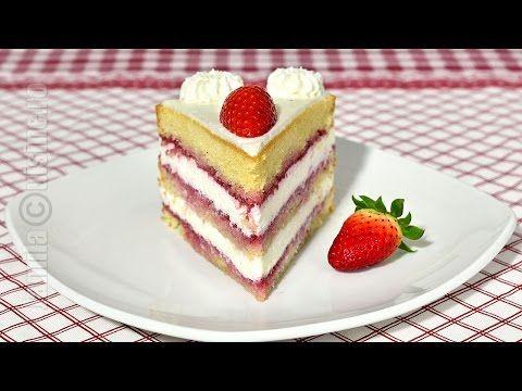 Tort cu mascarpone si fructe - reteta video   JamilaCuisine
