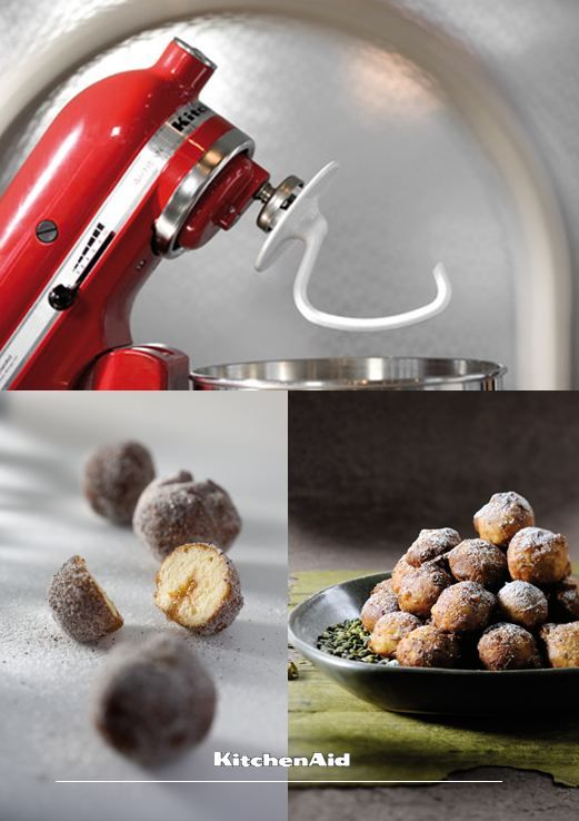 Mini doughnuts, ring doughnuts, creamed doughnuts or dipped doughnuts, we have tried them all and can't get enough of these deep fried goodies! The dough can be easily made with our Artisan Stand Mixer and Dough Hook Attachment! Much love KitchenAid Africa xx #KitchenAidAfrica