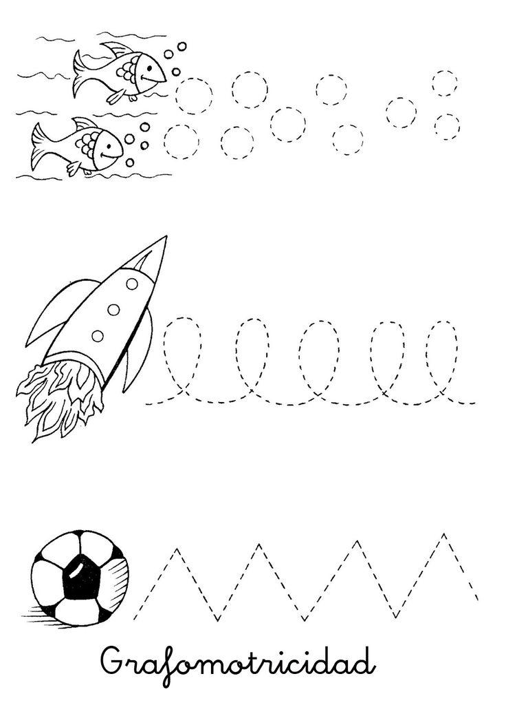 46 best grafomotricidad images on pinterest kindergarten - Dibujos sencillos ...