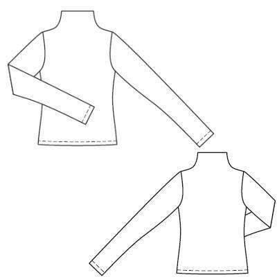 Пуловер: Burda 9/2010 121 A