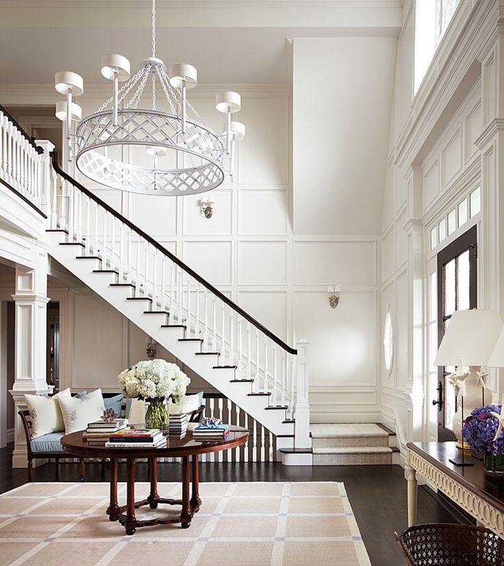 Foyer   Foyer  American  Architectural Details by Alexa Hampton