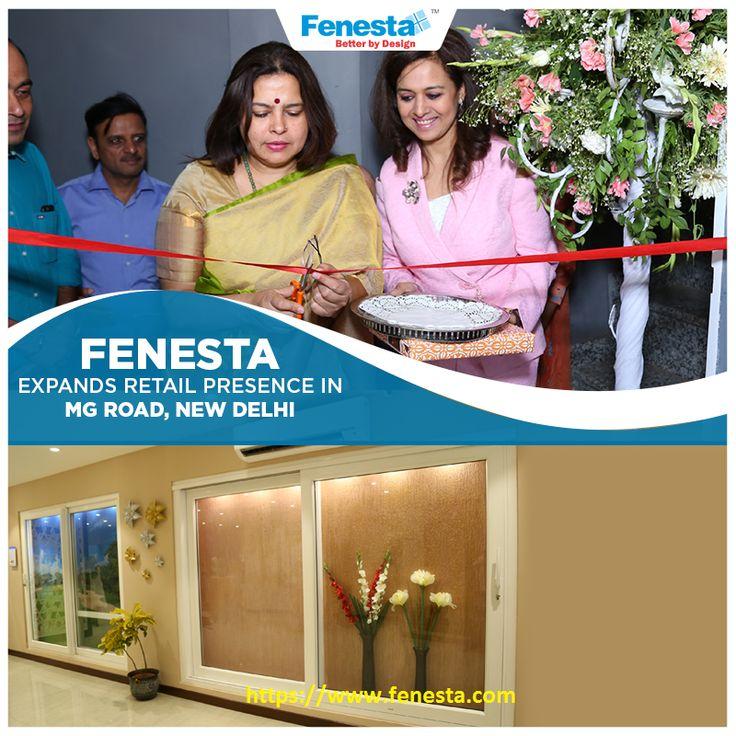 Fenesta Showroom comes to M.G. Road, New Delhi. Visit us for premium UPVC windows and doors.