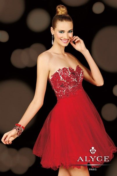 style a red dress homecoming