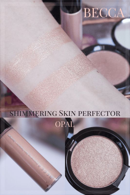 becca shimmering skin perfector glow on the go kit in Opal