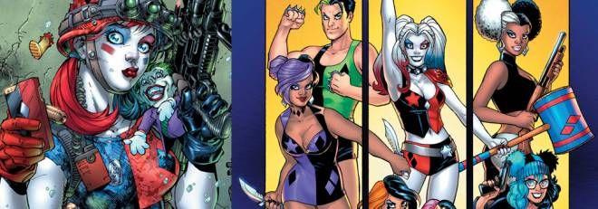 DC Comics Harley Quinn l'ex villain si rifà il trucco