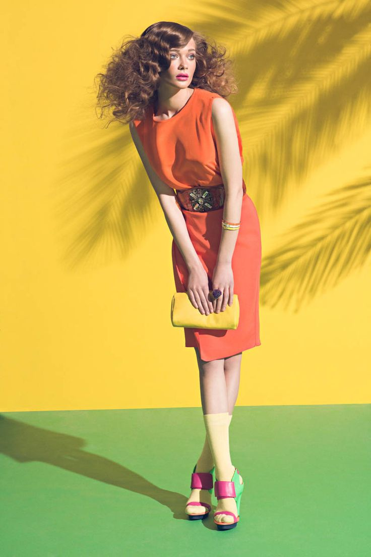 """Tanya Katysheva by Pablo Estévez & Javier Belloso in """"Shades of Summer"""" for Fashion Gone Rogue   Fashion Gone Rogue: The Latest in Editorials and Campaigns"""