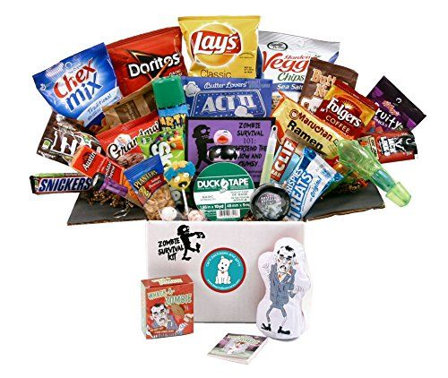 Zombie Survival Kit - The Halloween Care Package - http://mygourmetgifts.com/zombie-survival-kit-the-halloween-care-package/