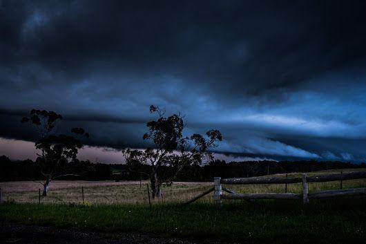 Storm on Oxleys Hill - Chris Sutton - Google+