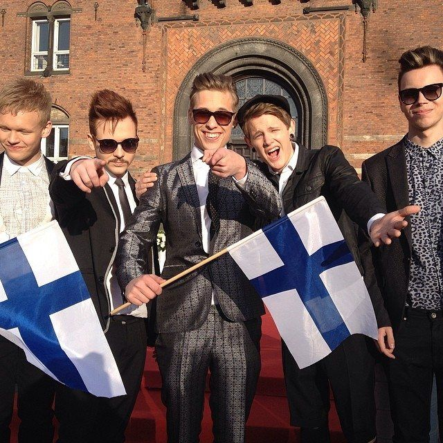 Softengine Finland Red Carpet Eurovision 2014
