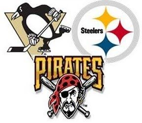 Pittsburgh Penguins  Pittsburgh Steelers  Pittsburgh Pirates