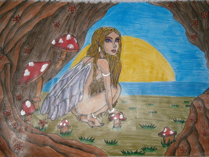 Lia B. Creations: Into the Hollow tree