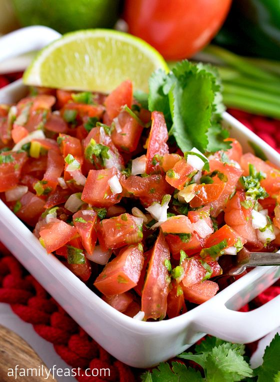 Pico de Gallo | Recipe | Pico De Gallo, Fresh and Classic