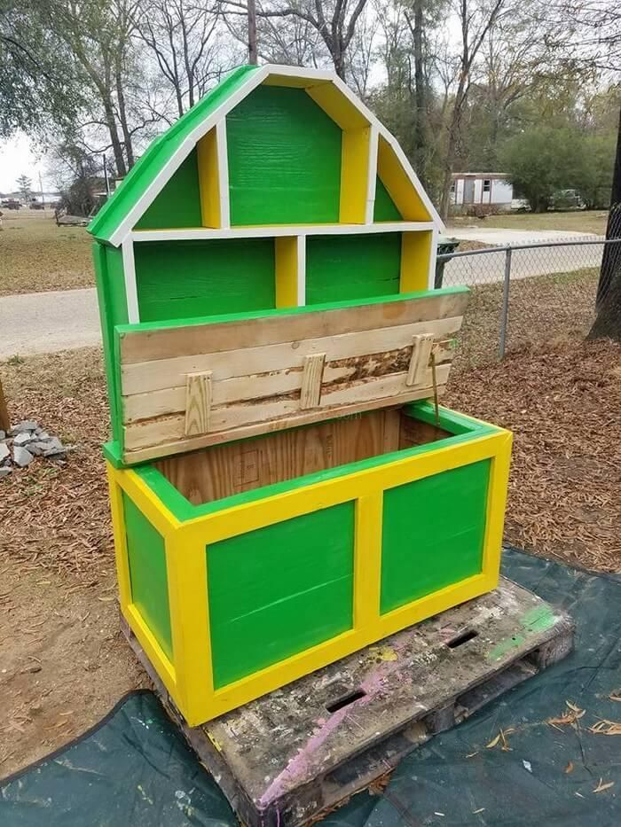 pallet toy box idea