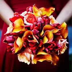 Orange Cala Lilies and Red Tulips bouquet - http://4.bp.blogspot.com/-DBCc0DHaYnQ/Ti8GYemd1bI/AAAAAAAAAjM/7fRcPtOfZA4/s400/large_image2.jpg