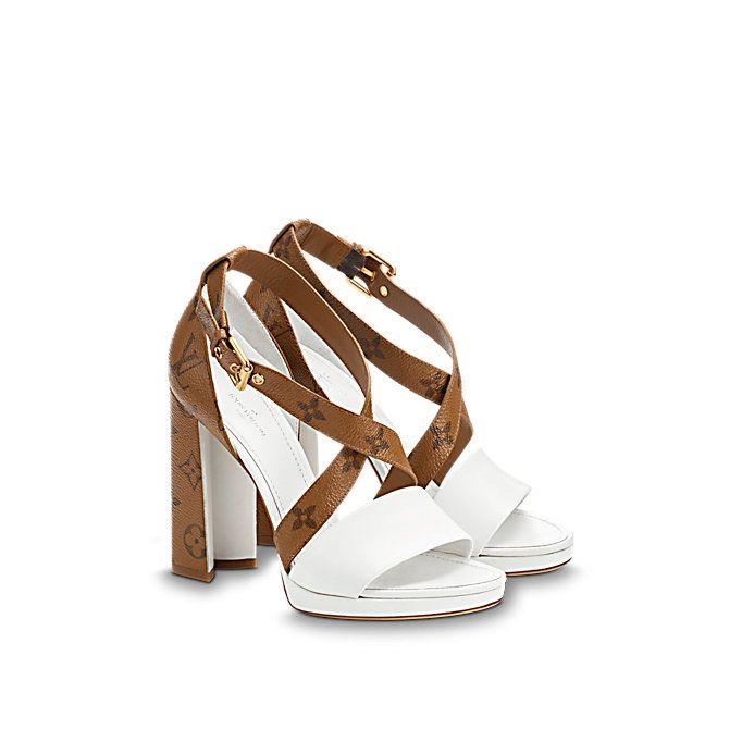 Matchmake Cross Sandal Women Shoes Louis Vuitton Louis Vuitton Heels Louis Vuitton Shoes Heels Louis Vuitton High Heels