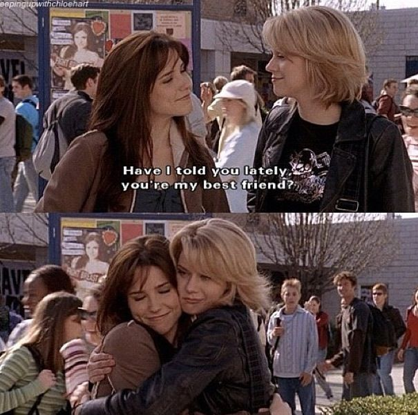 One tree hill. Peyton and Brooke had the best friendship