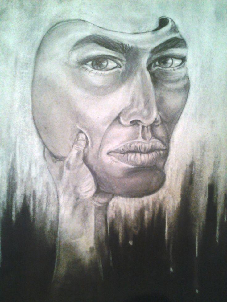 una mascara para ser adulto por Mauricio Pinilla