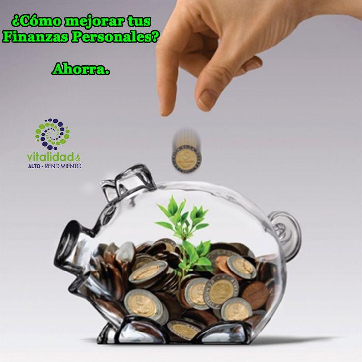 ¿Cómo mejorar tus Finanzas Personales? 2.Ahorra. Todo el dinero extra ahórralo, no salgas corriendo a buscar en que gastarlo. #VitalidadFinanciera