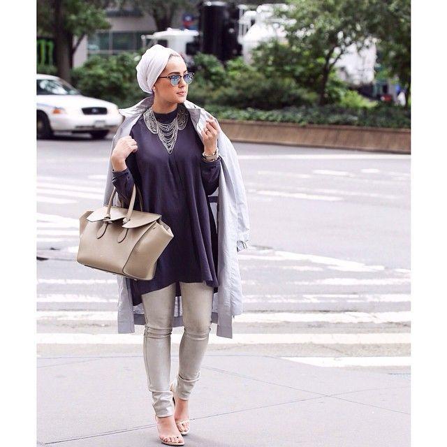 Hijab street fashion