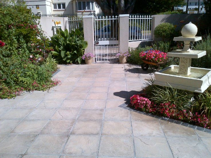 Quarry Pavers installed by SA Paving