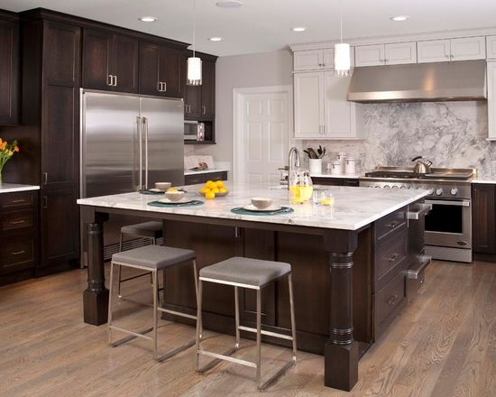 17 best ideas about dark wood cabinets on pinterest dark kitchen cabinets kitchens with dark. Black Bedroom Furniture Sets. Home Design Ideas