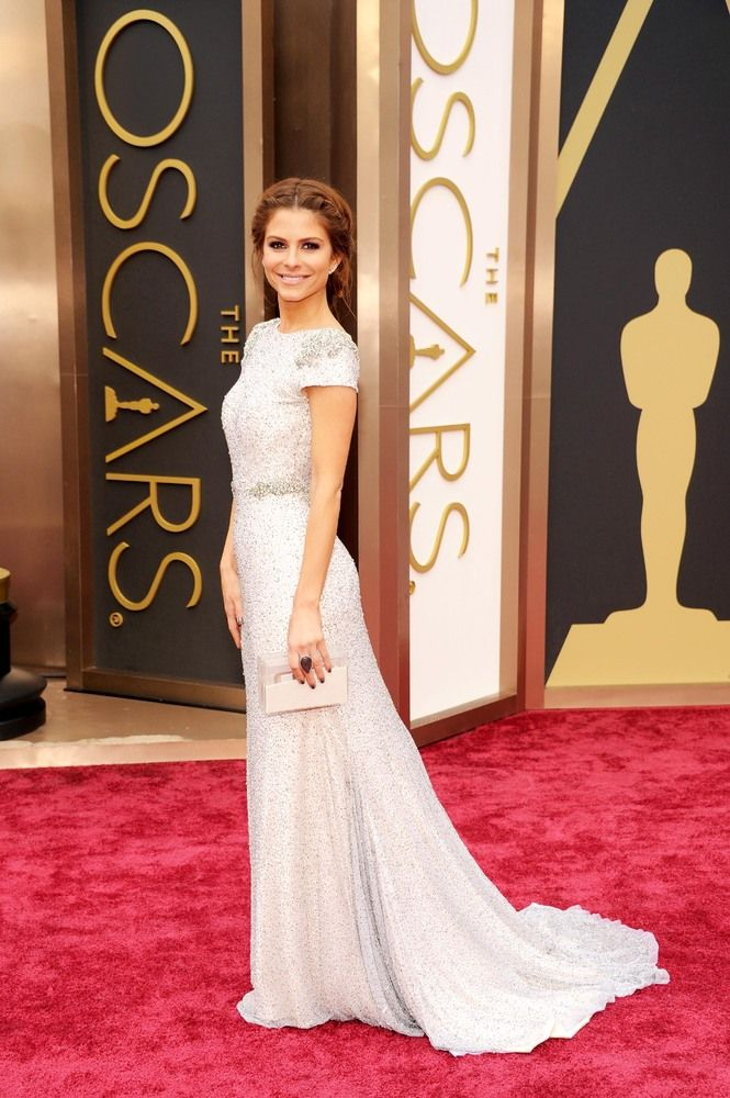 Maria Menounos' dress would make a glamorous wedding dress!