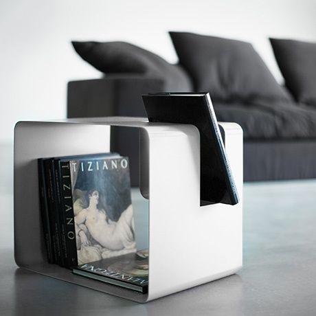 Libris Table - White by MEME DESIGN   MONOQI #bestofdesign