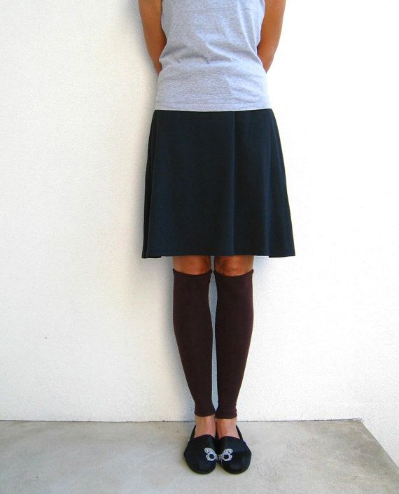 T Shirt Leg Warmers for Her / Chocolate Brown / Espresso by ohzie, #etsyfinds, #chaoscurators, #ohzie