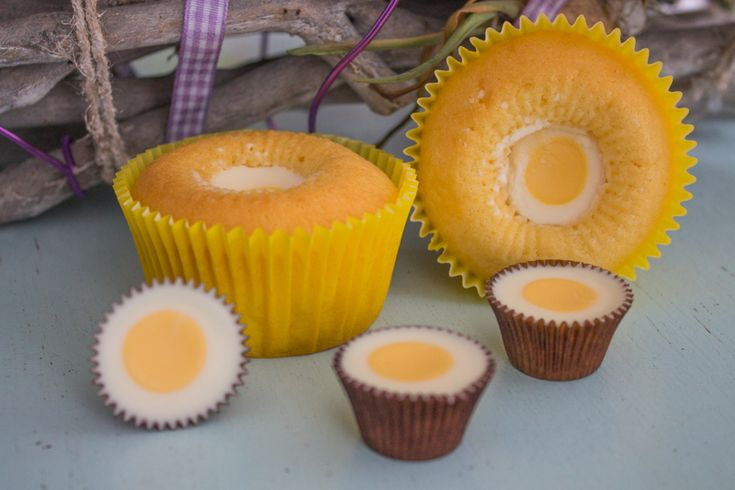 Paascupcakes met Ice cups
