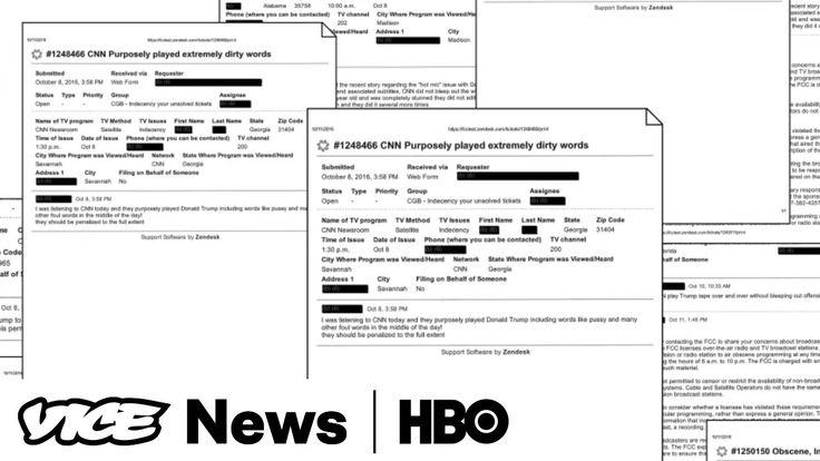 VICE News Tonight: FCC complaints about Donald Trump