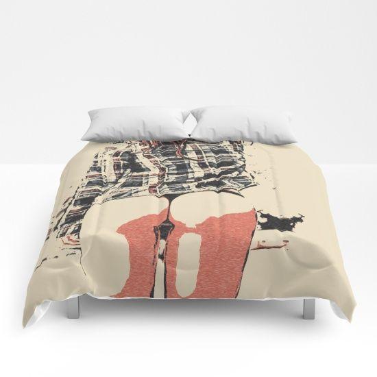 Sexy girls body - we love thigh gap 4 Comforters