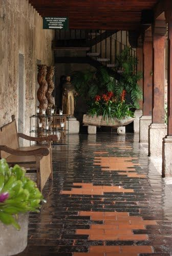 Hotel Santo Domingo in Antigua, Guatemala.... toured it. Now I want to return for a stay.
