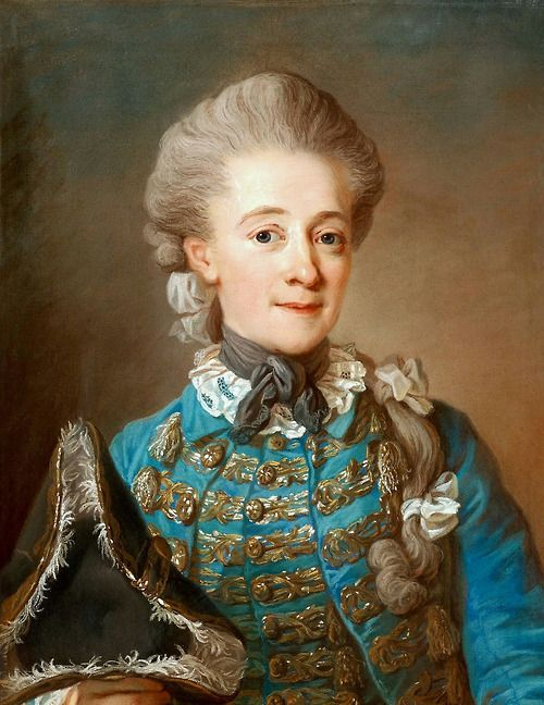 Baroness Ulrica Fredrika Cedercreutz by Gustaf Lundberg Probably early 1760s