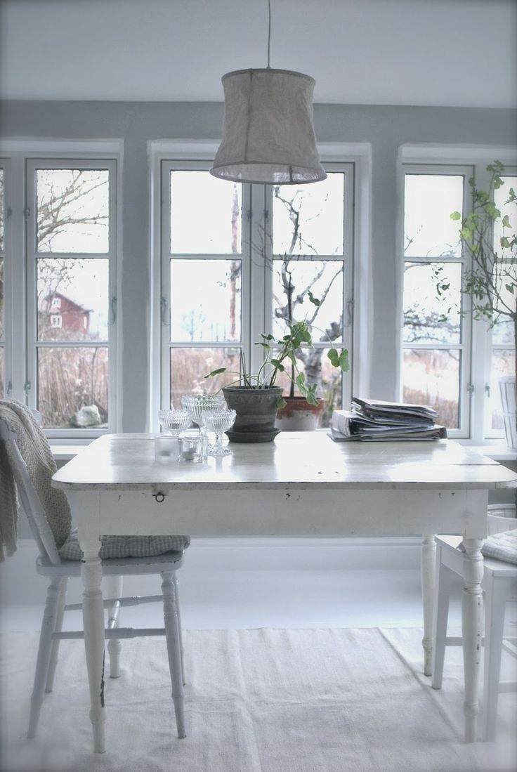 121 best cottage style ~ dining rooms images on Pinterest | Live ...