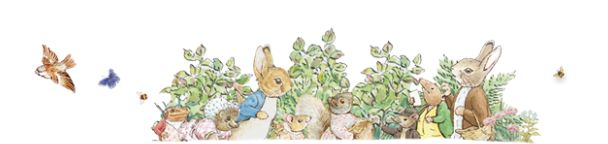 """Peter Rabbit"" by Beatrix Potter. A classic about being loved no matter what!"