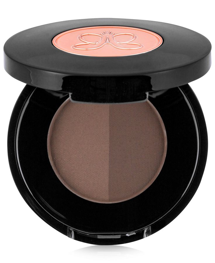 This sheer-to-medium opacity powderincludes two shades per compact toensure not only the perfect brow shapebut also the perfect brow color.Available in eight duos: Blonde, Taupe,Medium Brown, Caramel,