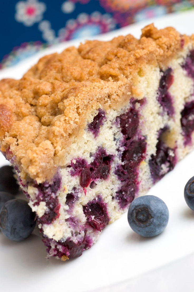 Blueberry Buckle: Cakes Batter, Blueberries Recipes, Celest, Fabulous Blueberries, Breakfast Food, Blueberries Buckles, Spices, Scones Recipes, Sugar