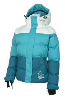Dívčí lyžařská bunda O´STYLE tyrkysová