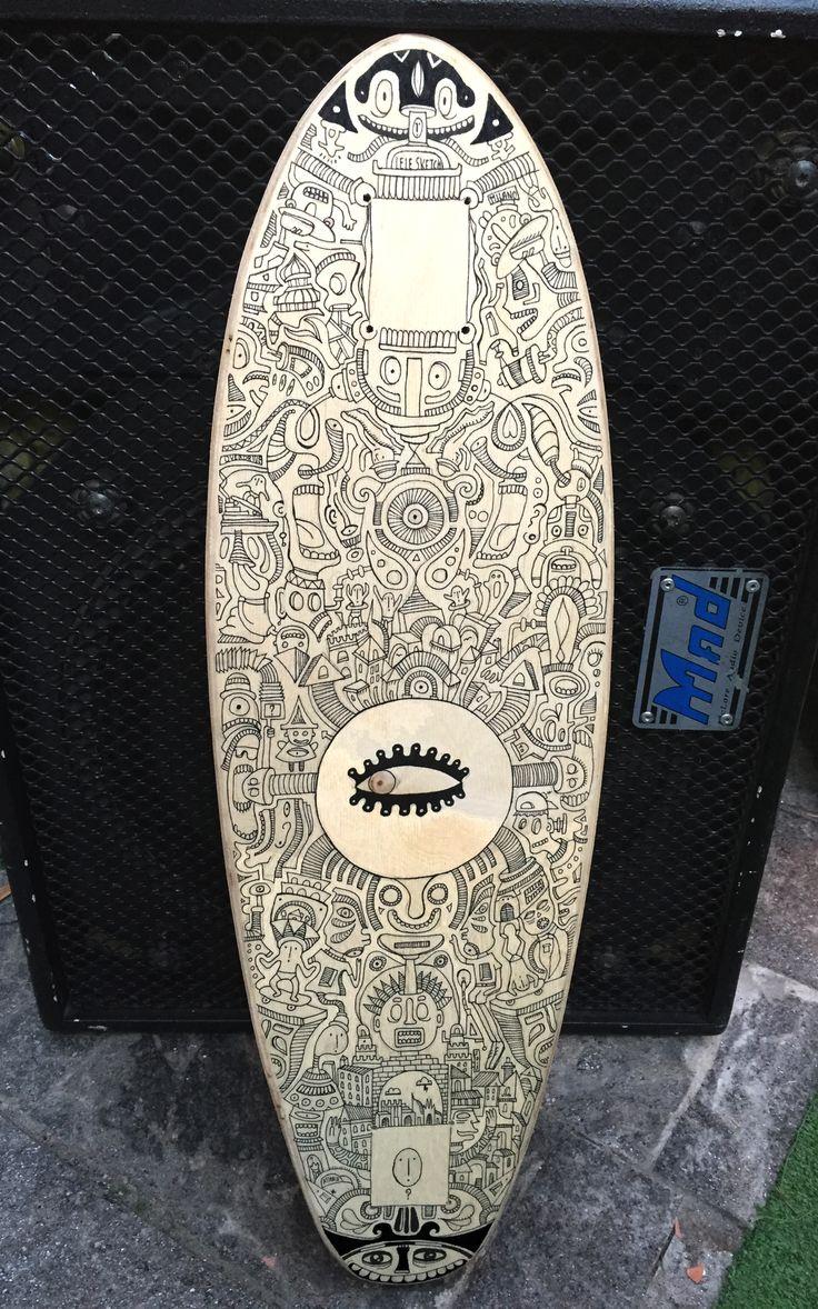 Handmade Skateboard (.i.)