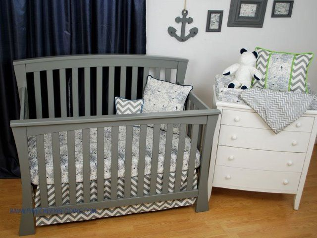 85 best world maps in decor images on pinterest babies rooms navy world map crib sheet with grey chevron toddler bedding publicscrutiny Image collections