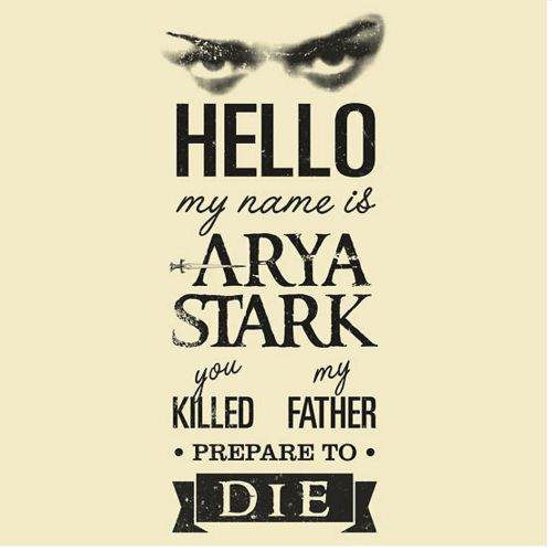 : Go Girls, Winter Is Coming, Names, The Princesses Bride, Games Of Thrones, Book, Arya Stark, Fans Art, Fandom