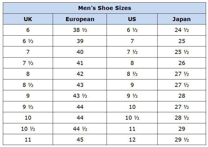 Mejores 8 imágenes de clothing and shoe conversion charts en ...