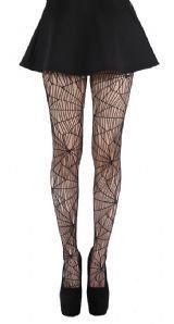Cobweb pattern net harisnya fekete – Darkfashion